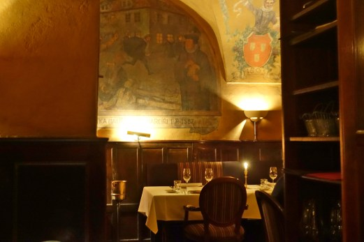 Prague U Malírù fresco