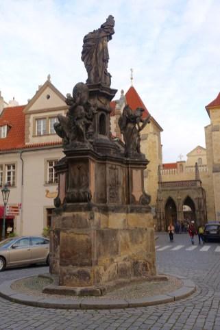Prague fountain