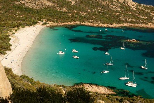 Domaine de Murtoli Roccapina beach view