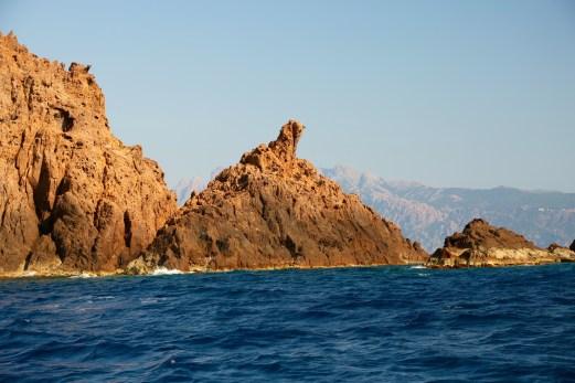 Scandola Nature Reserve dolphin island
