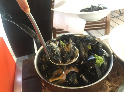 L'Ille-Rousse cafe mussels