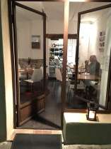 Cinq restaurant Tourrettes-sur-Loup interior