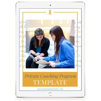 Private-Coaching-Program-Template Get More Done with Templates