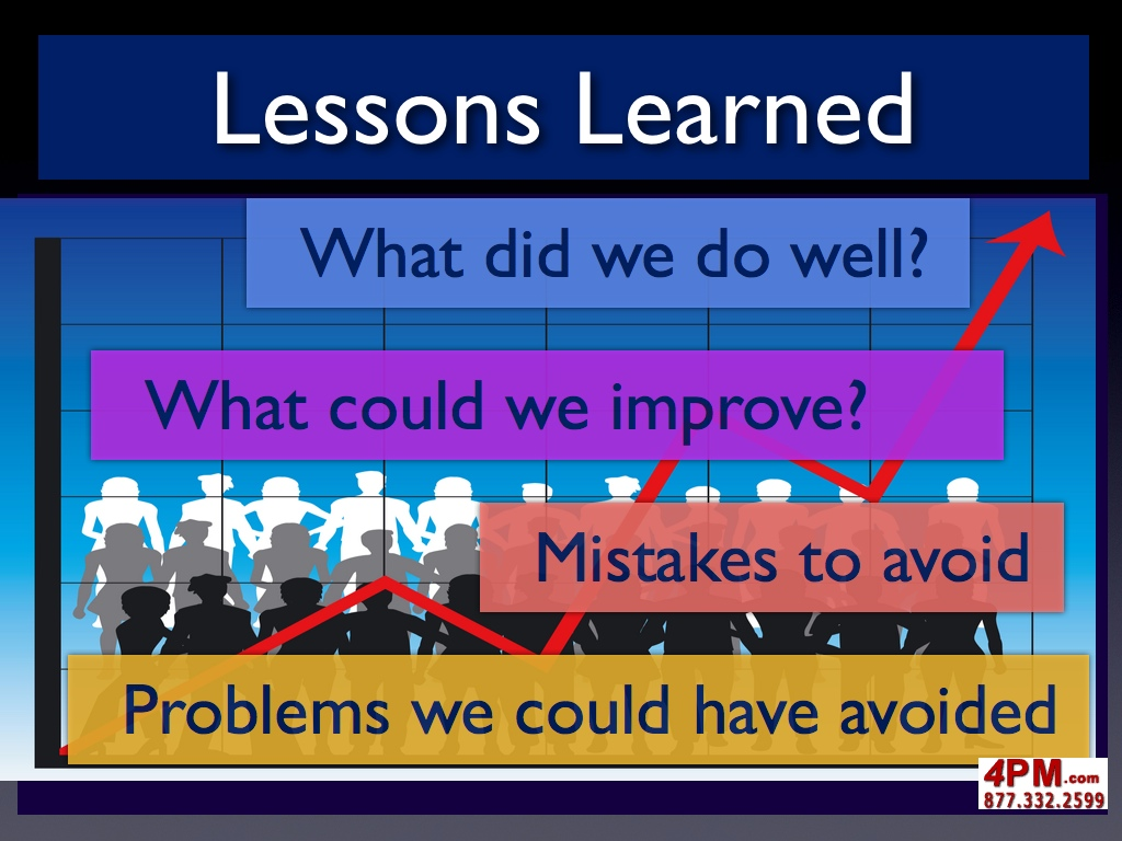 Lessons learned project management lessons learned project management process step two xflitez Images