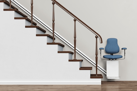 A Guide To Home Modifications To Prevent Seniors From Falling | Stair Design For Seniors | World's | Contemporary | Steel | Unique | Indoor
