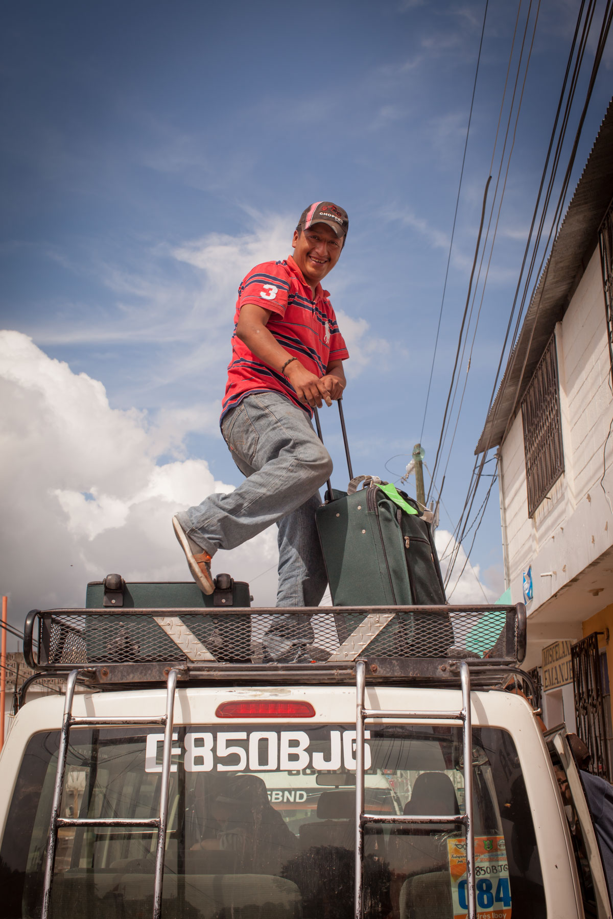Transport back to Panajachel, Guatemala
