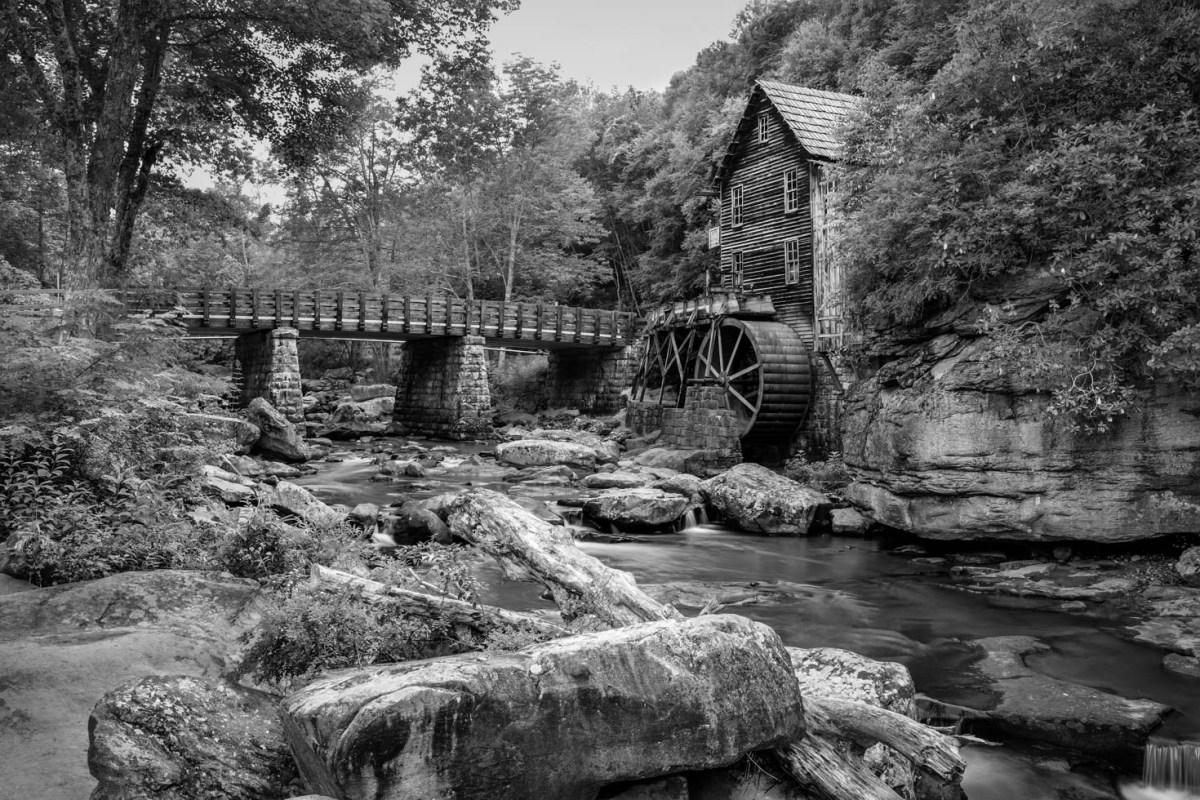 Old Stone Mill WV Vezzani Photography