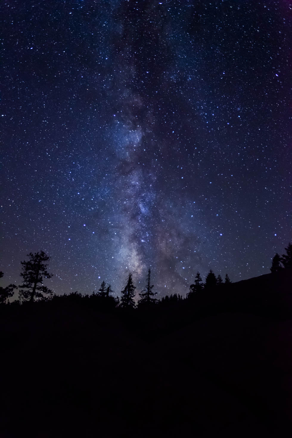 The Milky Way, Glacier Point, Yosemite National Park