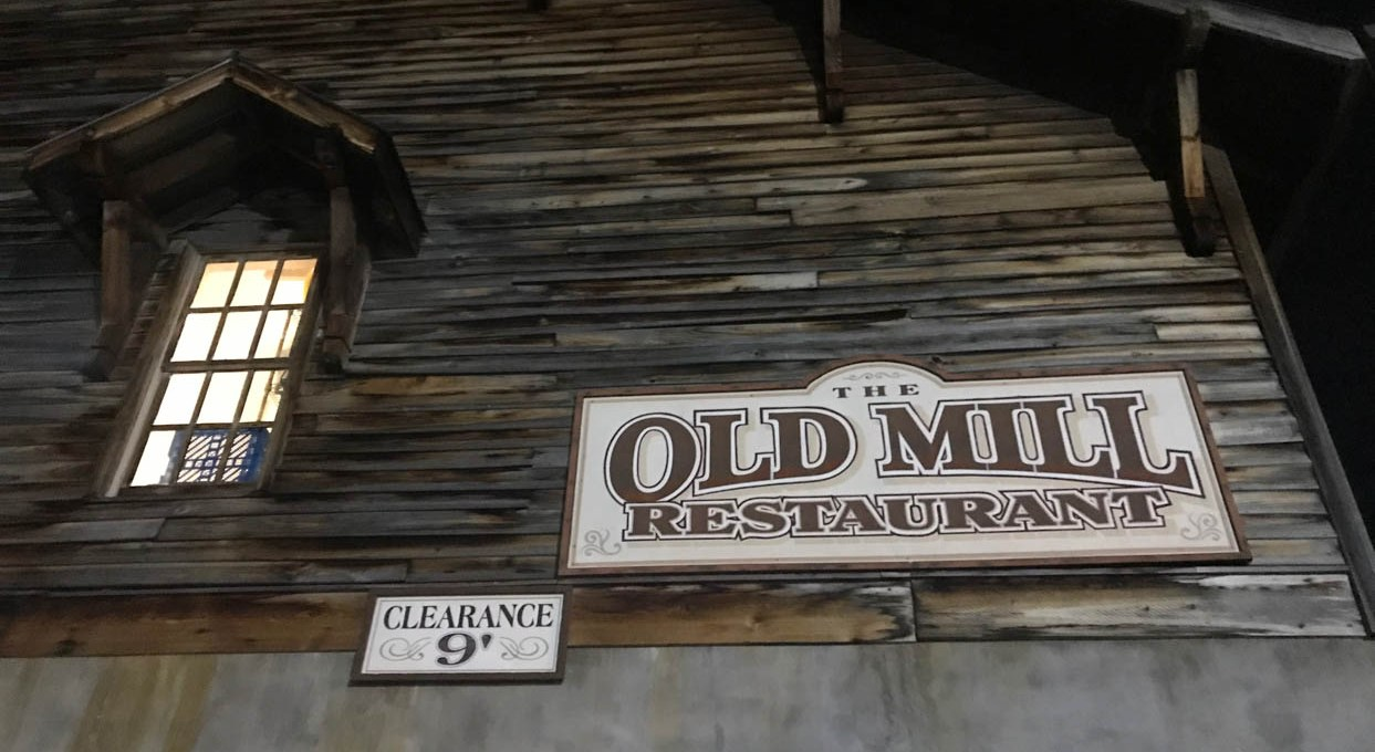 The Old Mill Restaurant in Pigeon Forge, TN is worth a visit!