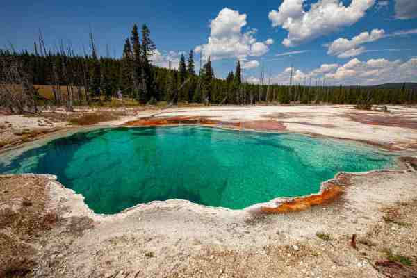 Yellowstone National Park Screensaver and Desktop Images The Abyss