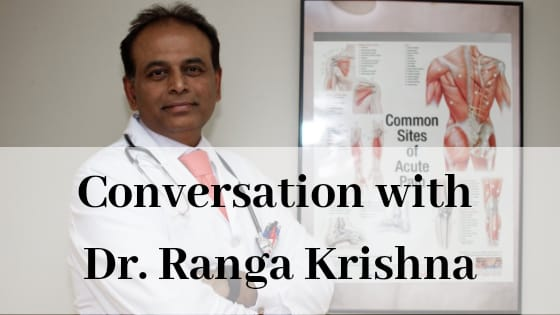 Conversation with Neurologist, Dr. Ranga Krishna