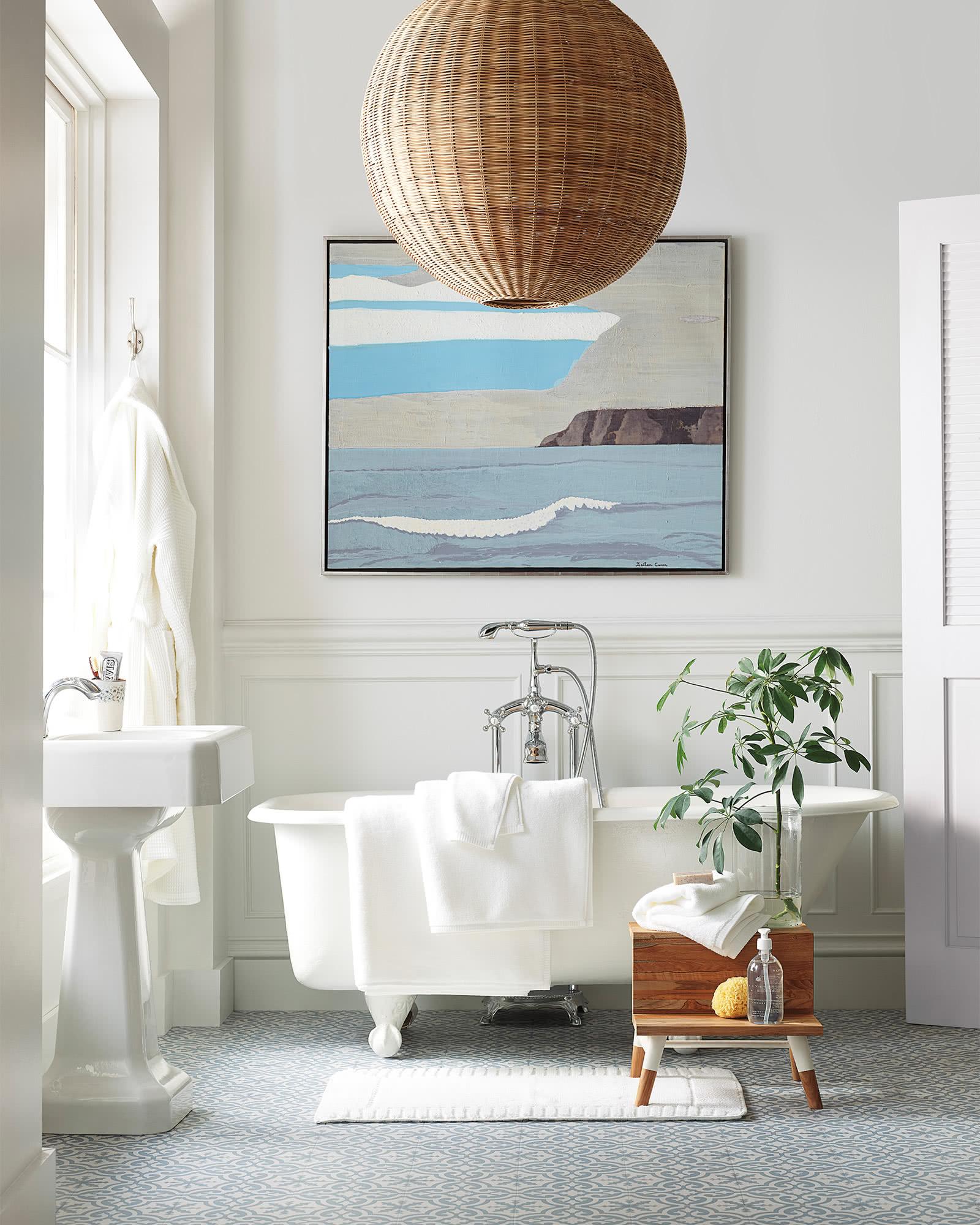 coastal bathroom lighting ideas