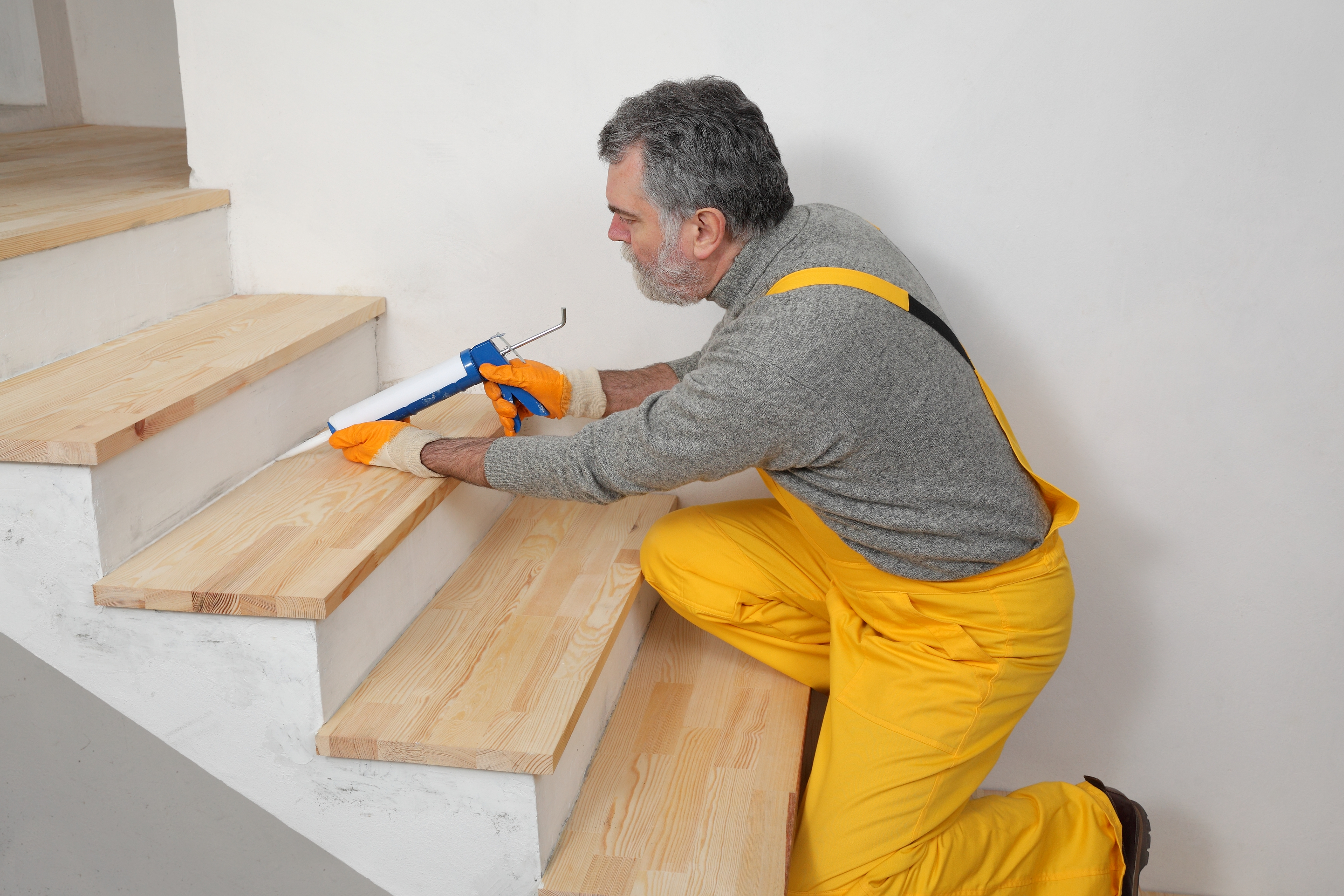How To Install Wood Stair Treads Without Showing Nail Holes Home | Unfinished Pine Stair Tread | Wood | Stair Parts | Red Oak Stair | Stair Railing | Basement Stairs