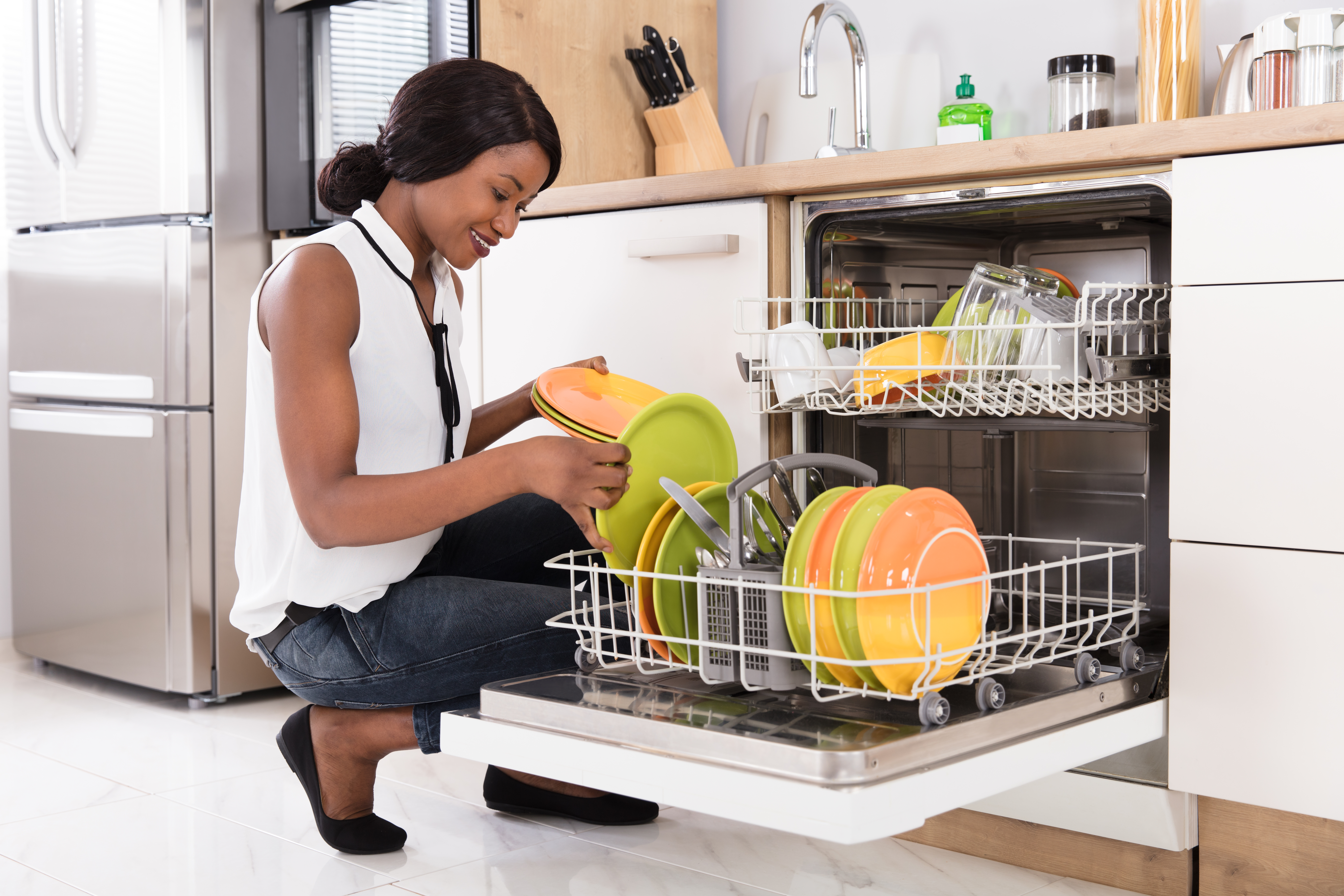 https homeguides sfgate com fix water coming out dishwasher breather 33979 html
