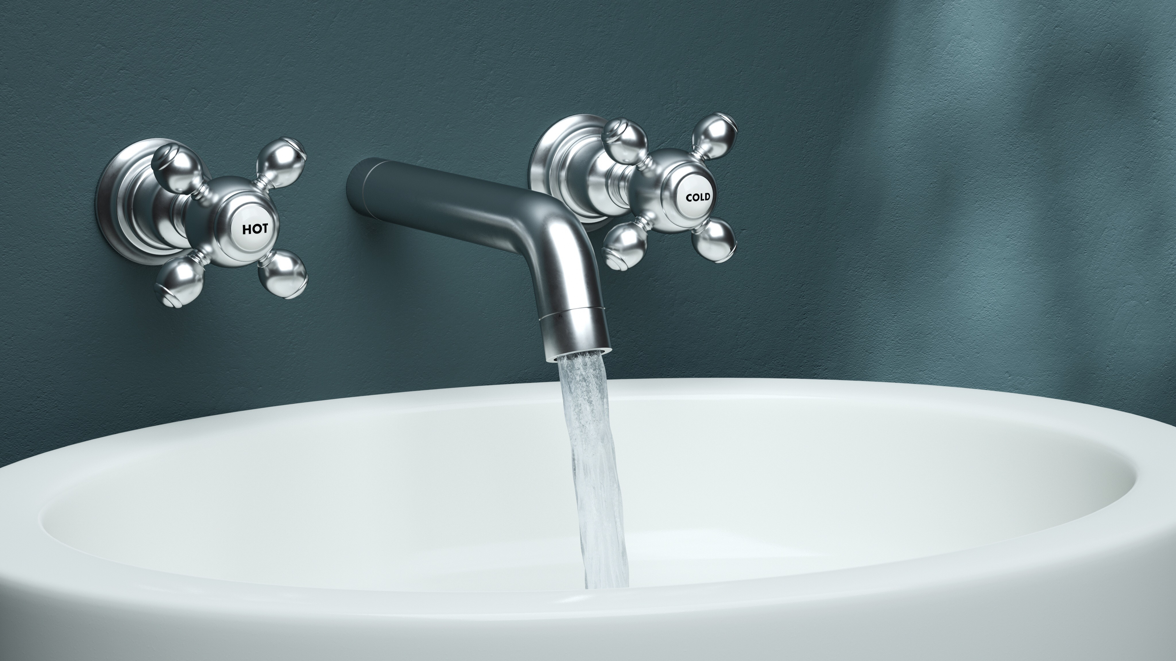 causes of a slow water stream from a bathroom faucet