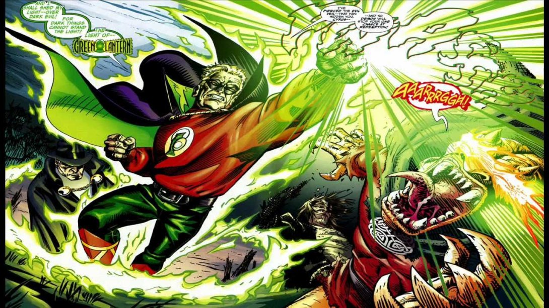 Green Lantern Alan Scott