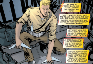 The Flash #19: Starring John McClane as Barry Allen