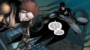 Batman and Calvin Rose