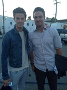 Grant (left) & Amell (right)