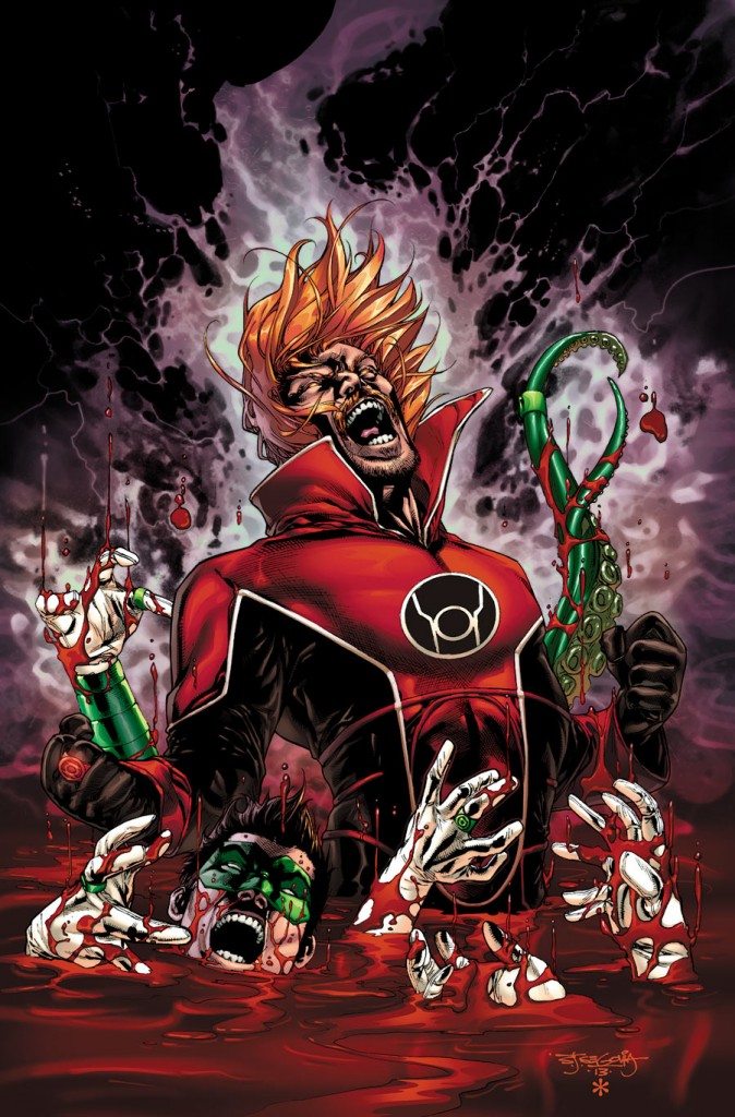 Guy Gardner's new look will officially debut in issue 27. Cover Art for Issue 28 by Alessandro Vitti.