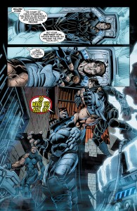 Forever Evil: Arkham War #4 interior page by Scot Eaton