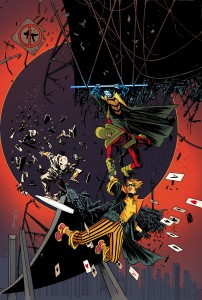 Forever Evil: Rogues Rebellion #5 cover art by Declan Shalvey