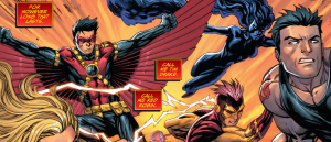 SECRET ORIGINS #3: Red Robin with the Titans