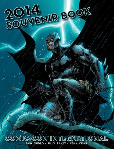 The stunning Cover Art for the Comic Con Souvenir Book by Jim Lee