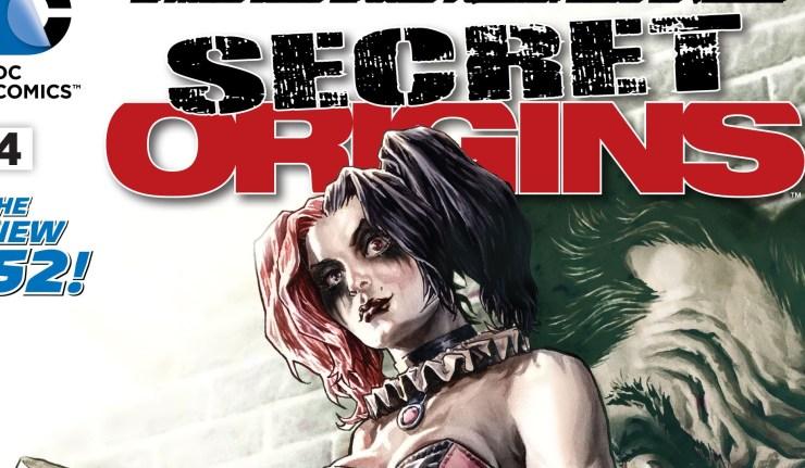 SECRET ORIGINS #4 - cover