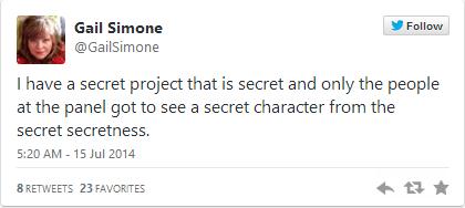 Gail Simone Tweet 2