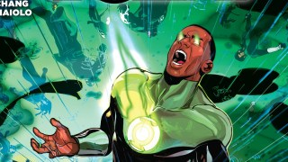GREEN LANTERN CORPS 34 - cover