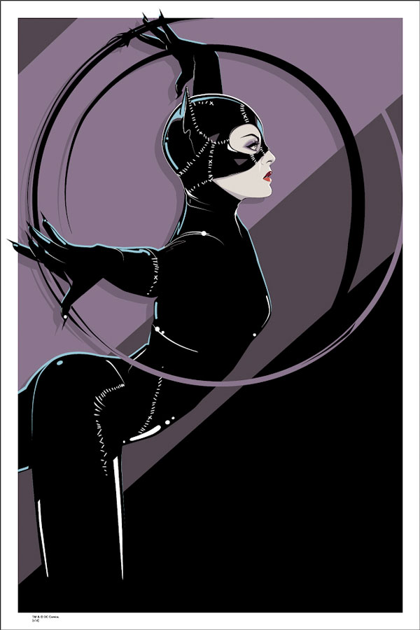 Burton's Catwoman by Craig Drake