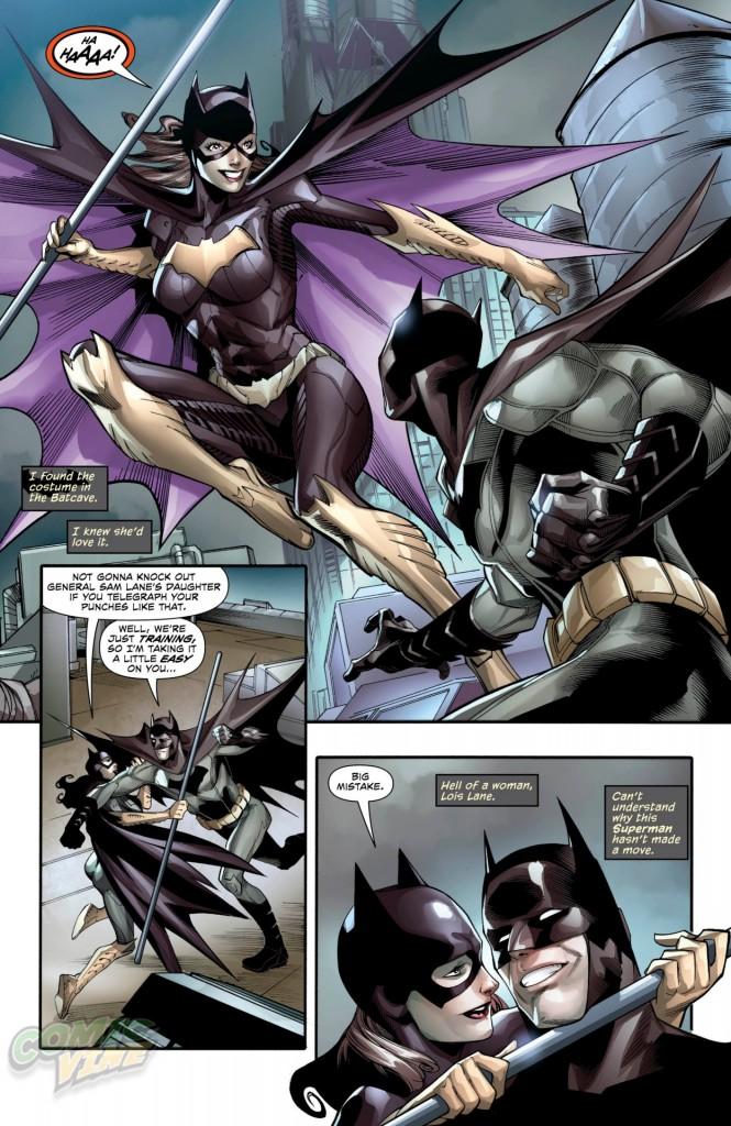 Batman and Lois Lane 3