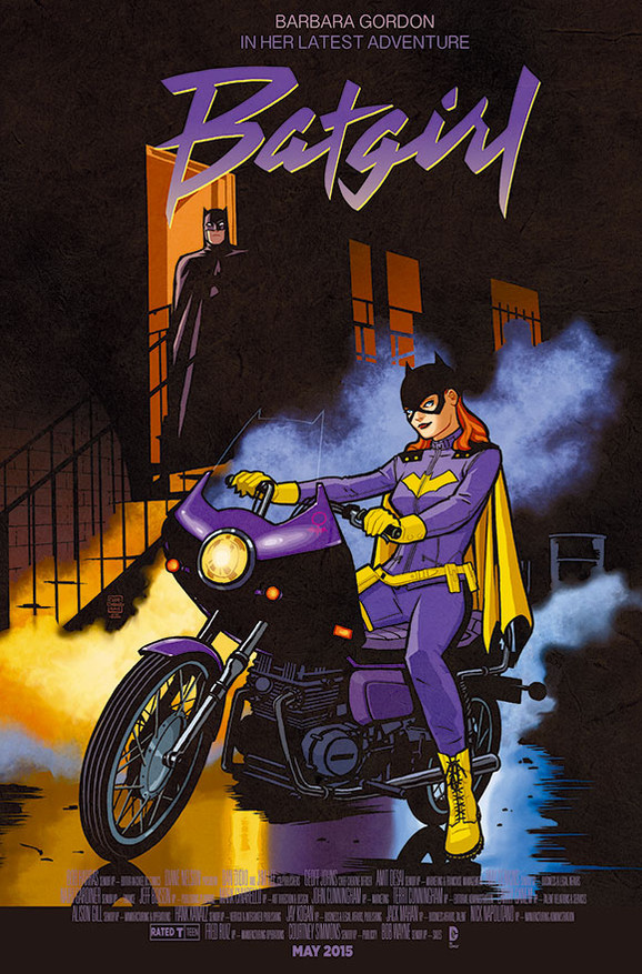 Batgirl/Purple Rain