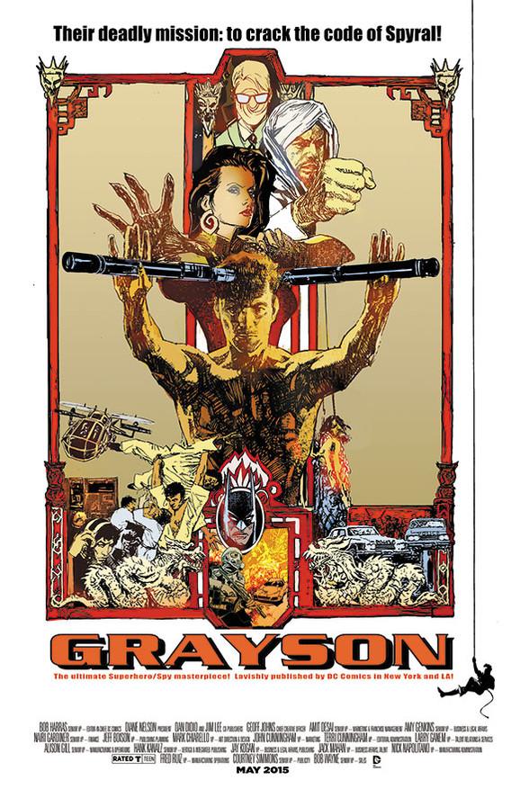 Grayson/Enter the Dragon