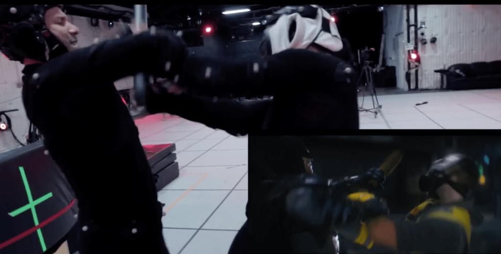 Arkham Knight Stunt Work
