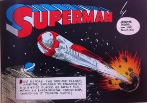 Man or Superman Superman 1 Splash