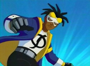 Static as he appears in Static Shock