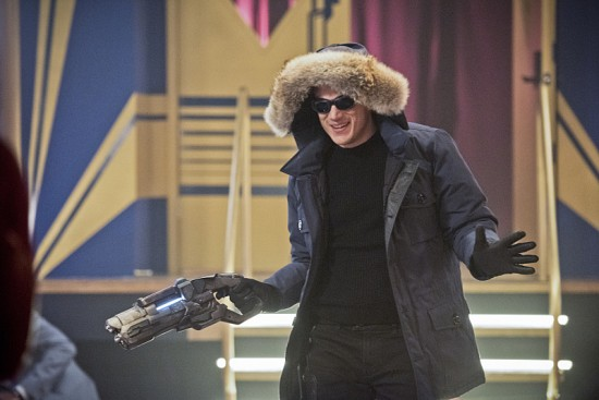 """The Flash -- """"Rogue Time""""-- Image FLA116B_0232bc -- Pictured: Wentworth Miller as Leonard Snart/Captain Cold -- Photo: Dean Buscher/The CW -- © 2015 The CW Network, LLC. All rights reserved."""