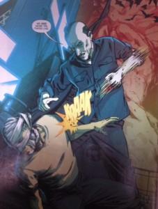 Batman Eternal 49 Alfred Beat Down