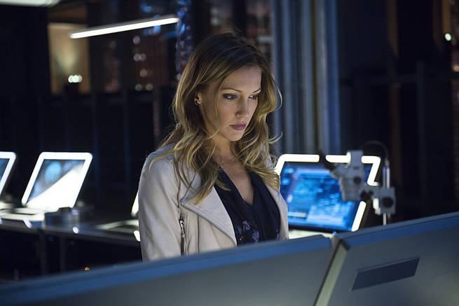 "Arrow -- ""Al Sah-Him"" -- Image AR321B_0084b -- Pictured: Katie Cassidy as Laurel Lance -- Photo: Cate Cameron/The CW -- © 2015 The CW Network, LLC. All Rights Reserved."