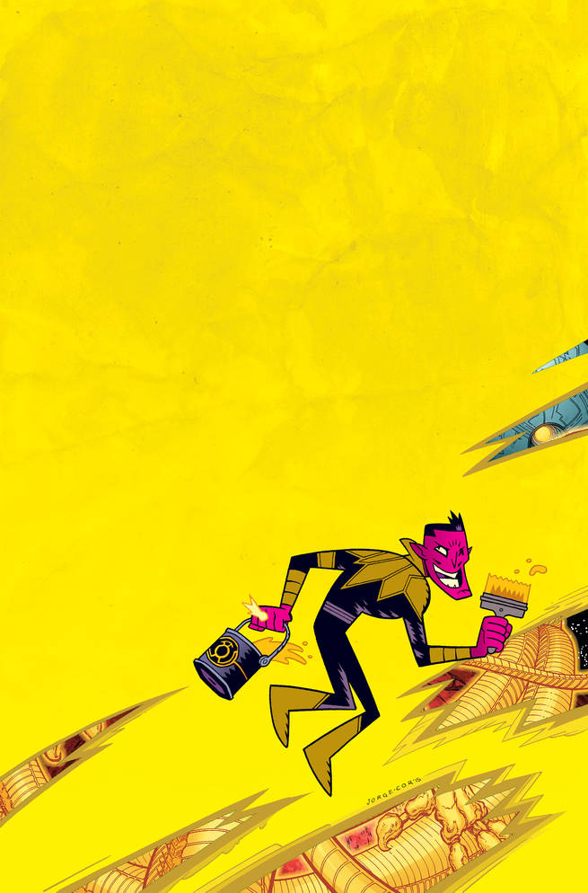 Sinestro #13 by Jorge Corona