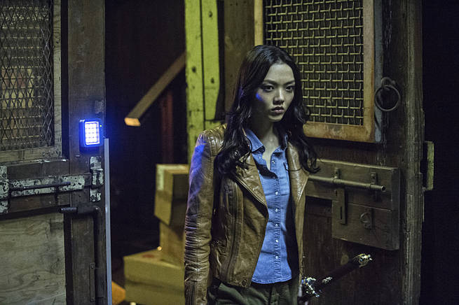 "Arrow -- ""Broken Arrow"" -- Image AR319A_0444b-- Pictured: Rila Fukushima as Tatsu Yamashiro -- Photo: Cate Cameron/The CW -- © 2015 The CW Network, LLC. All Rights Reserved."