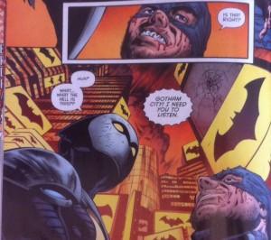 Batman Eternal 52 Bat signals