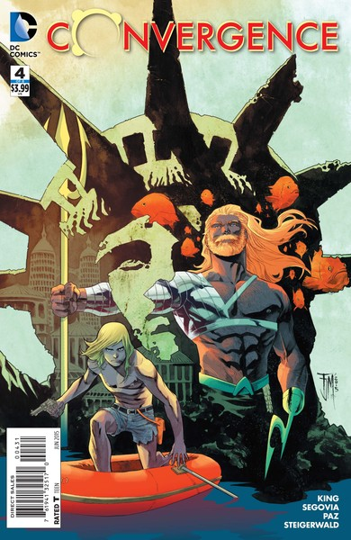 Convergence #4 variant cover (art by Francis Manapul)