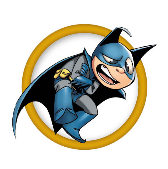 """""""Bat-Mite"""" temporary tattoo (Available June 3)"""
