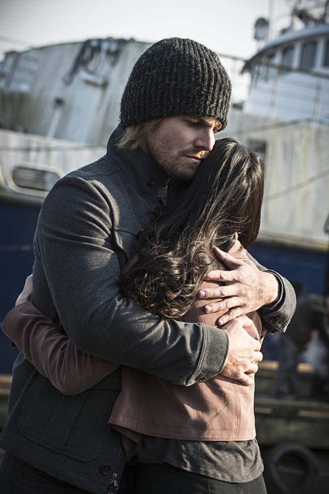 """Arrow -- """"My Name is Oliver Queen"""" -- Image AR323C_0007b -- Pictured: Stephen Amell as Oliver Queen -- Photo: Cate Cameron/The CW -- © 2015 The CW Network, LLC. All Rights Reserved."""
