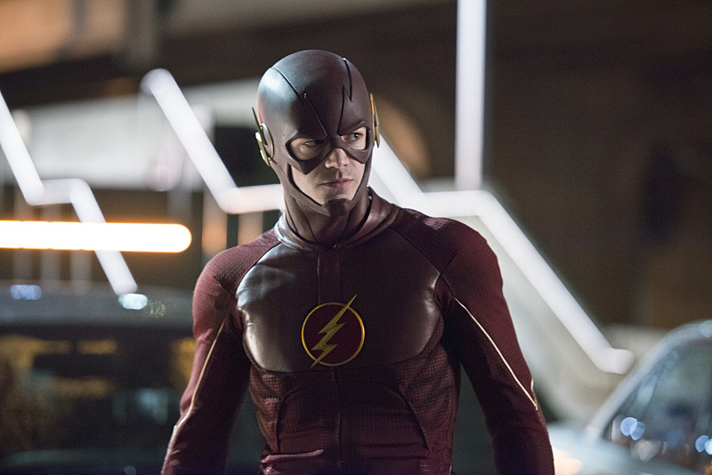 """The Flash -- """"Rogue Air"""" -- Image FLA122B_0203b -- Pictured: Grant Gustin as Barry Allen / The Flash -- Photo: Diyah Pera/The CW -- © 2015 The CW Network, LLC. All rights reserved."""