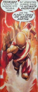 Multiversity Red Racer as Flash
