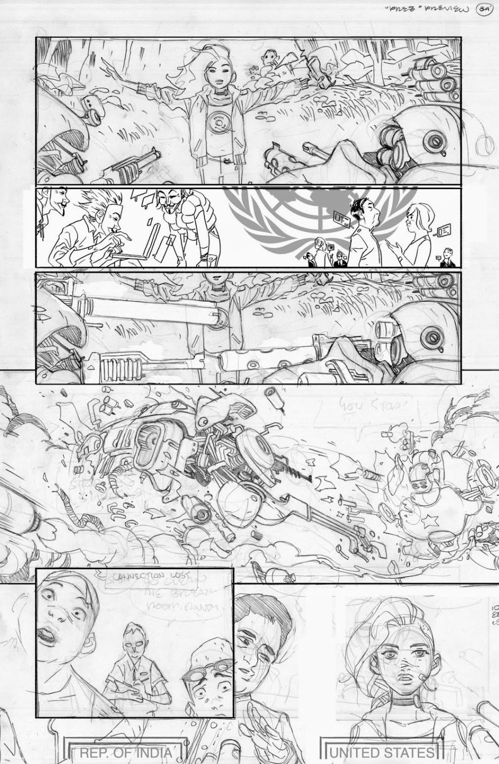 PREZ pencils by Ben Caldwell